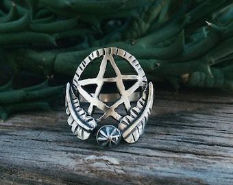 The Pentagram Garden ring