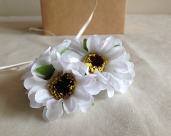 Daisies -- artificial flower bouquet