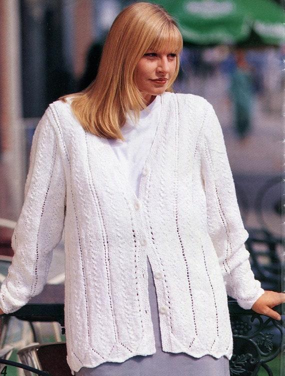 Plus Size Knitting Patterns : Knitting PLUS SIZE DESIGNS 8 Pattern Book 34 to by KenyonBooks