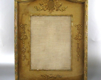 French Empire Style Picture Frame c1900 Large Antique Ormolu