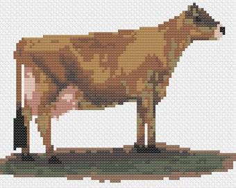 Jersey Cow - Cross Stitch Pattern