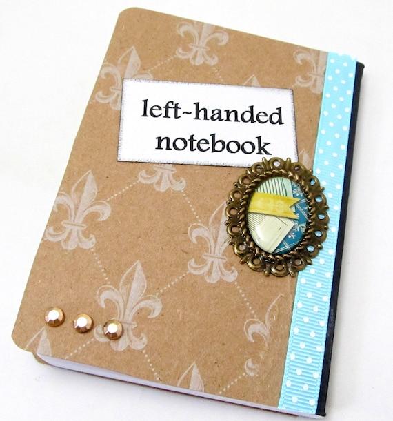 Left Handed Mini Journal