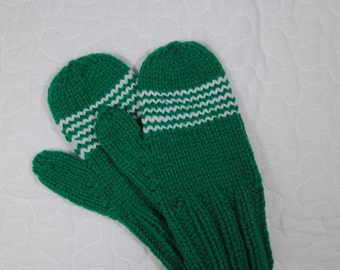 Custom chevron mittens - toddler to adult sizes