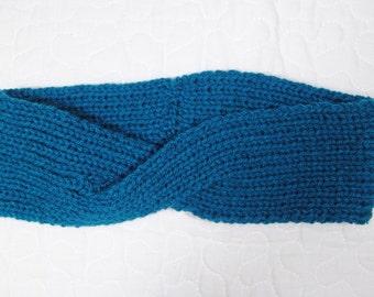 Criss-cross knit headband - newborn to adult sizes
