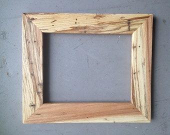 8x10 Oak Wood Picture Frame