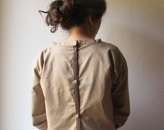 blouse for your favorite activities - handmade - Cotton