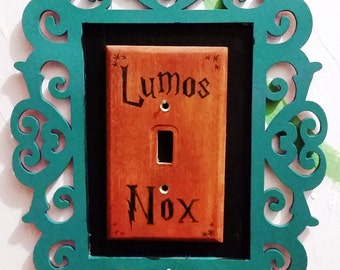 Lumos Nox Light Switch Plate - Harry Potter Switch Cover