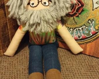 Jerry Garcia Plush Doll