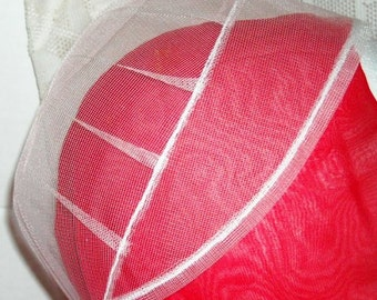 Sale.......AUTHENTIC AMISH, Handmade, Net Head Covering.  21 Inches Around.NEW