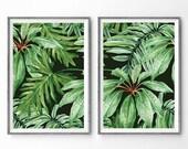 NEW* Banana Leaf Print - Paper Print, Abstract Art