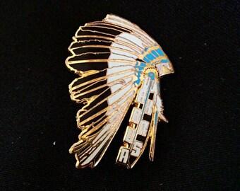 Wakarusa 2013 Limited Edition Gold Headdress Pin