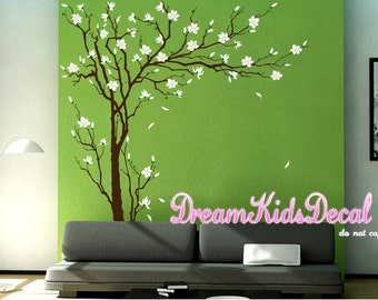 Tree Wall Decals Cherry Blossom branch wall decals nursery wall decals children girl baby wall decals wall sticker wall decor Murals -DK177