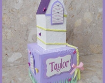 Rapunzel Inspired Tower Centrepiece