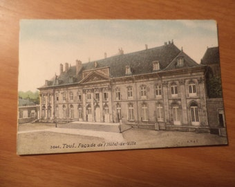 Vintage Toul Facade De l Hotel De Ville Postcard Free Shipping