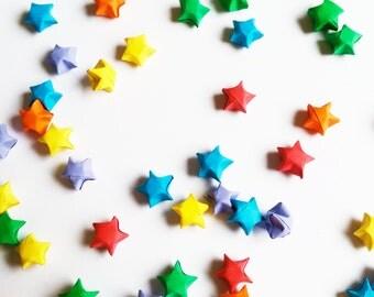 Origami Lucky Stars - 100 Rainbow.