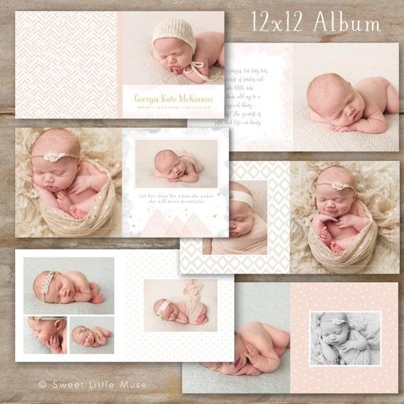 portrait album orange county newborn sessions