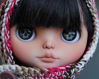 Eyechips for Blythe dolls - Skulls