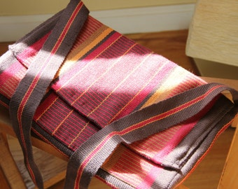 Messenger bag in warm colors