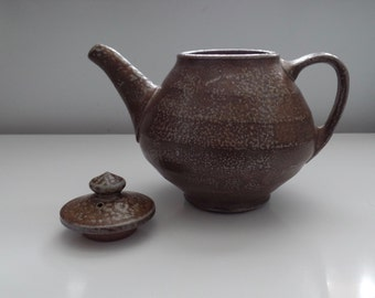 Wood/Salt Fired Teapot