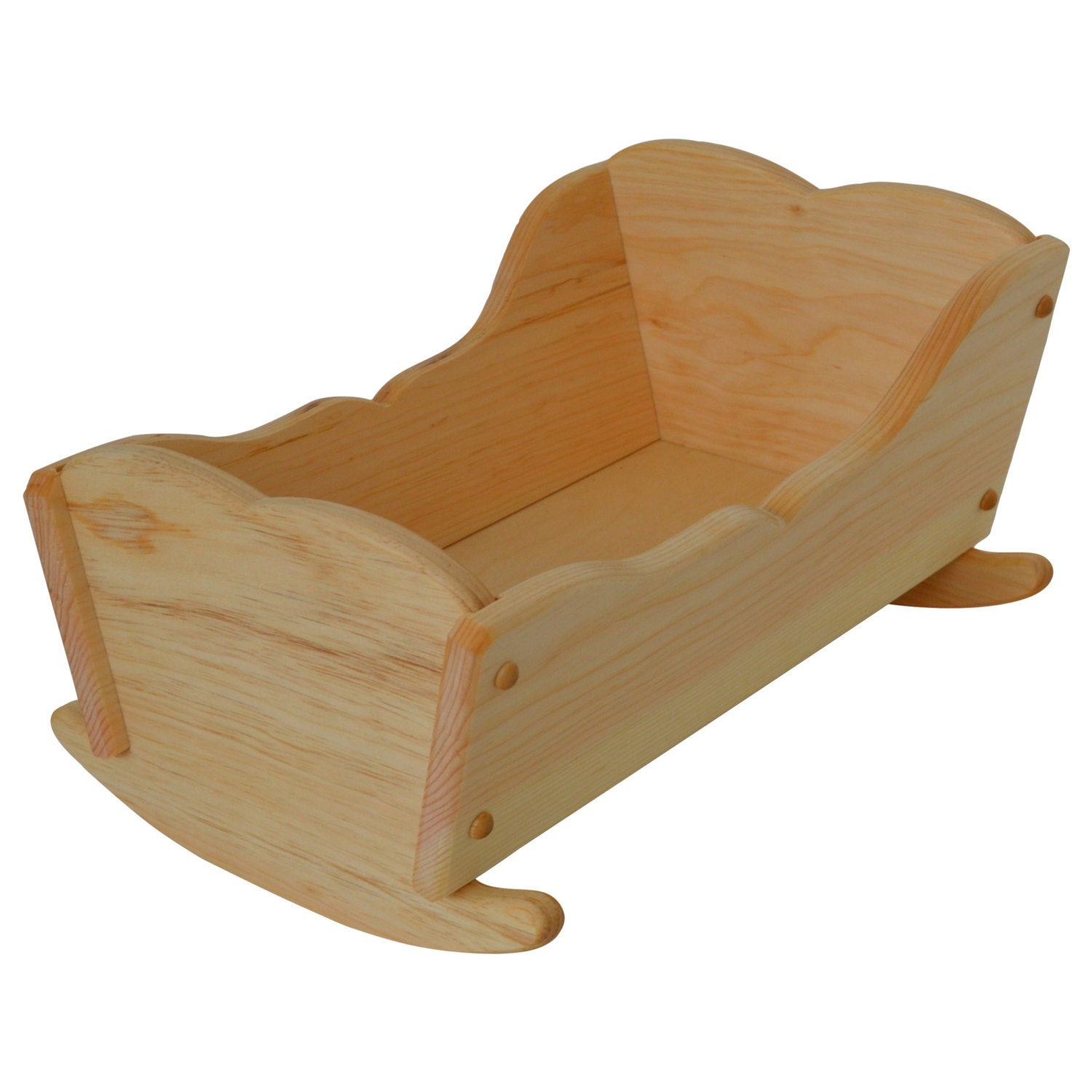 Wooden Toy Dolls Cradle Wood Doll Cradle Baby Doll