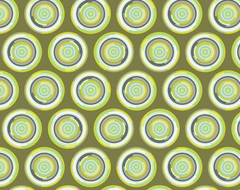 CHIPPER 1/2 yard by Tula Pink for Westminster fabrics The Hypnotizer Mint