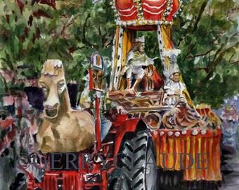 Mardi Gras Rex Parade