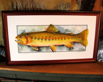 Framed in Cherrywood / Limited Edition of 50
