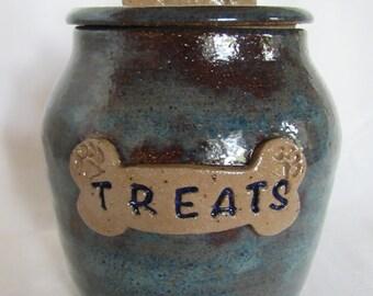 Personalized Doggie Treat Jar