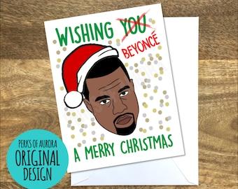 Kanye inspired Funny Christmas card