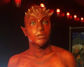 Fire dragon prosthetic *silicone*