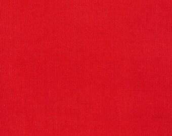 Lava - Corduroy Cotton Fabric - Floratopia- Elizabeth Olwen for Cloud9