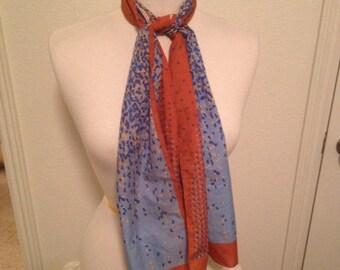 Groovy vintage scarf