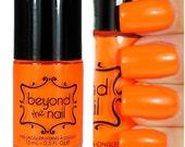 Neon Orange Nail Polish - UV Reactive