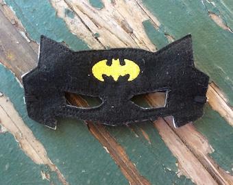 Black Bat Superhero Mask