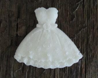 1 Princess/Wedding Dress Shea Butter Soap Favor Birthday, Bridal Shower, Wedding