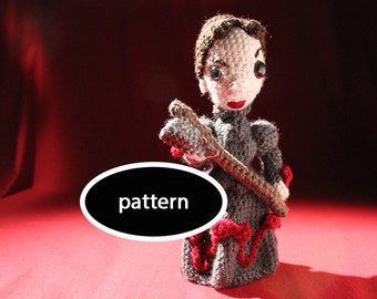 Pattern for Lizzie Borden Amigurumi