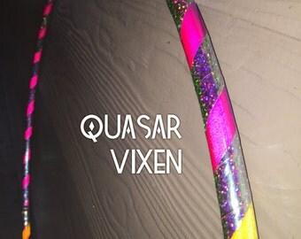 Quasar Vixen~~~Custom Reflective Polypro Hoop