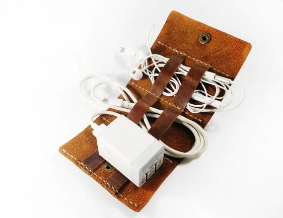 Metal earbuds case - earbud wrap case