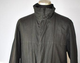 Vintage DIESEL PARACHUTECH  men's trench coat ......(371)