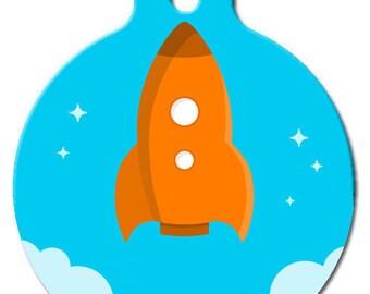 Rocket Pet ID Tag