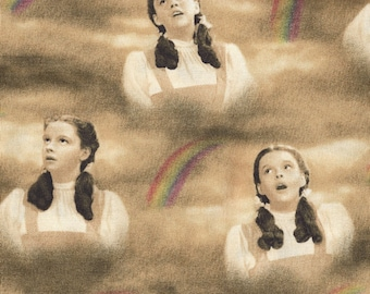Quilting Treasures - Wizard of Oz Quilt Fabric - Dorothy Under the Rainbow - By the Yard