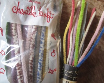 Pipe Cleaner Chenille Stem Vintage Pipe Cleaners Stems