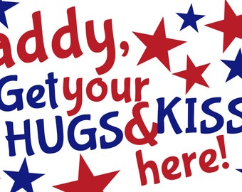 Hugs and Kisses Military Homecoming Banner