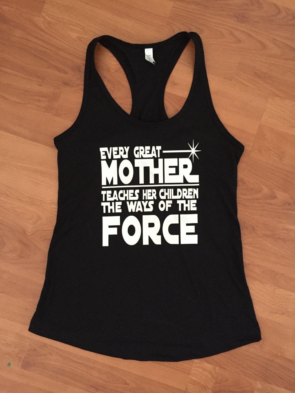 123 teach me tank game - Star Wars Mom Woman S Tank Top