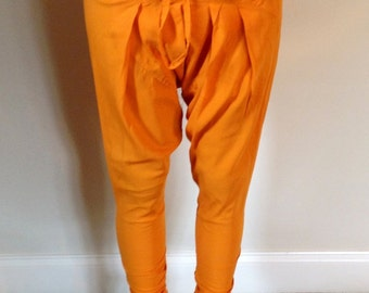 WOW!...Hammer Time! Orange Pants With Drawstring Waist