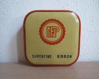 Typewriter Ribbon Tin, Nebuloni & Picozzi