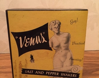 Venus Salt and Pepper Shaker Set