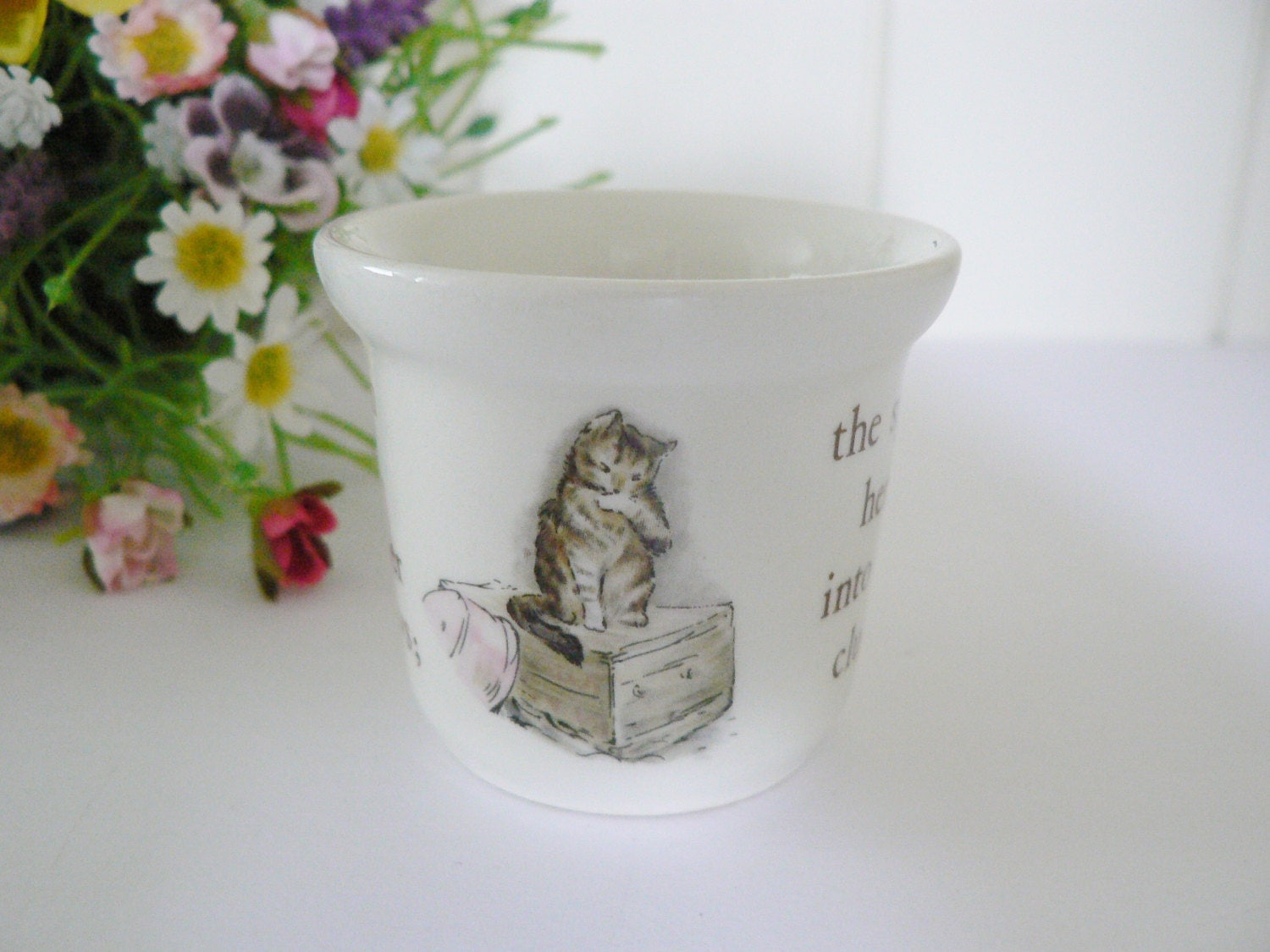 Wedgwood Baby Gifts Uk : Beatrix potter vintage s mrs tiggy winkle egg cup by