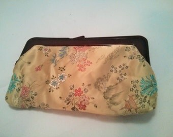 Vintage Collection - Asian Satin Fabric Clutch