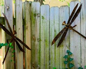 Dragonfly Ornament hand cut metal